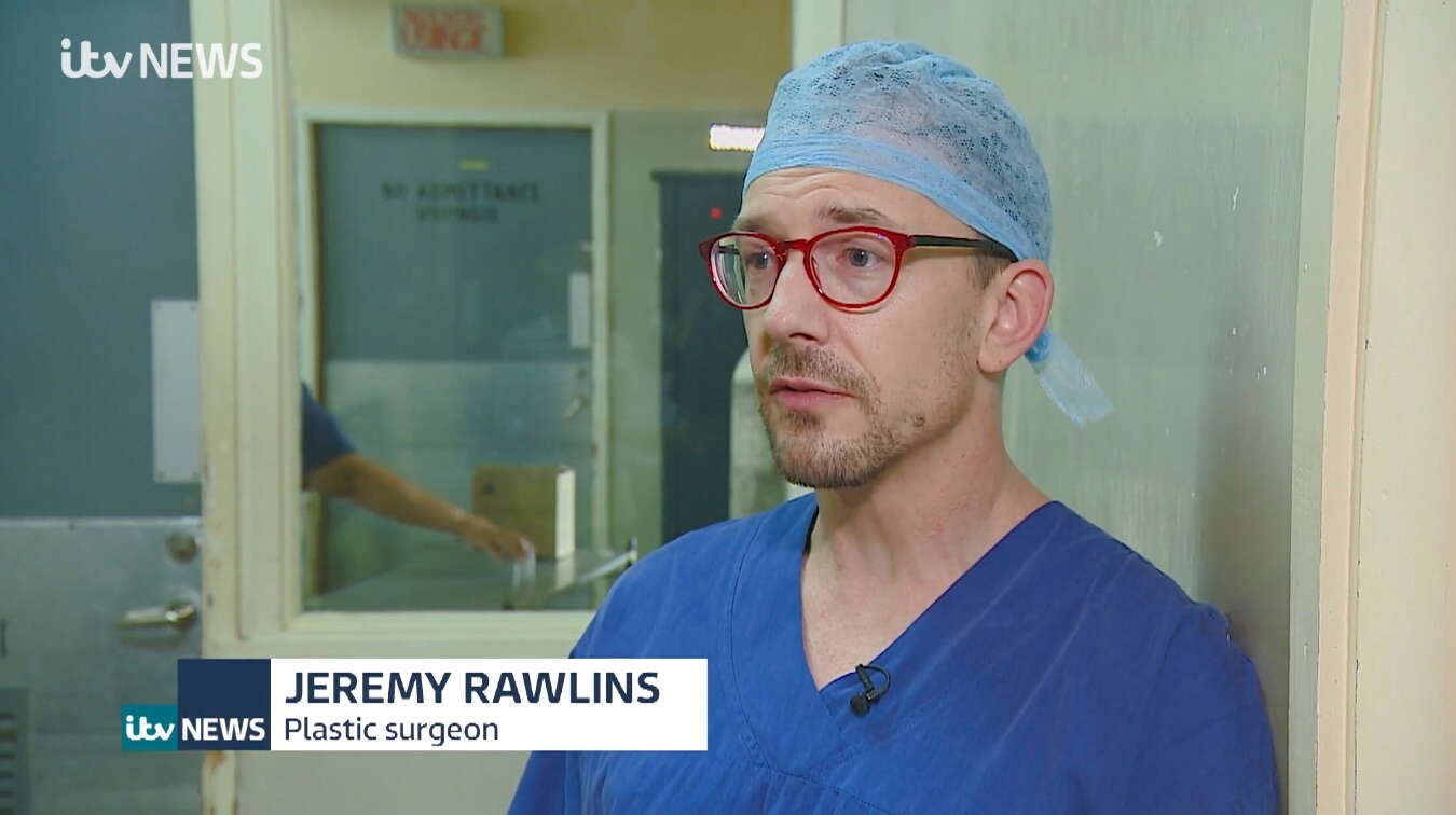 Jeremy Rawlins - Burns Reconstruction Specialist